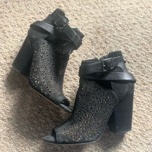 Vince Camuto Lace Booties